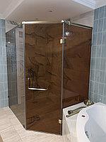 Душевая кабина с раздвижной стеклянной дверью, фото 1