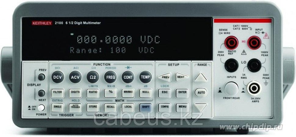 2100, Мультиметр цифровой 6,5-разрядный