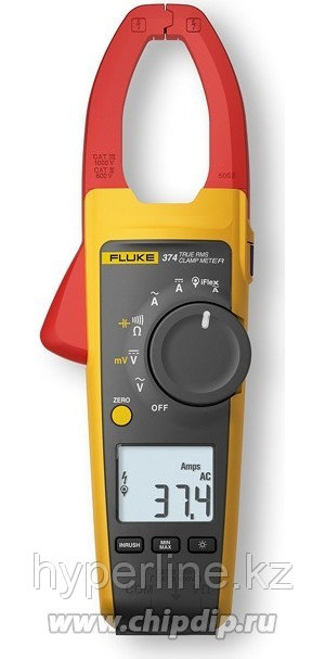 FLUKE 374/E, Клещи токовые True-RMS