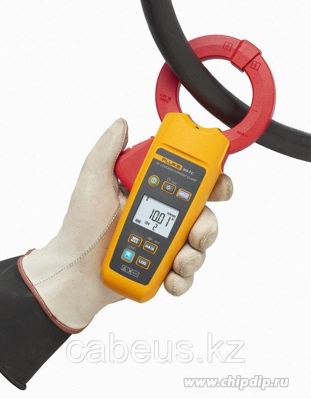 Fluke 369 FC, Токоизмерительные клещи для измерения истинных среднеквадратичных значений тока утечки (Госреестр)