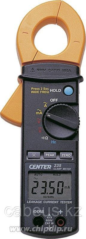 CENTER-235, Клещи токовые AC/DC (Госреестр)