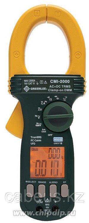 GT-CMI-2000, Greenlee CMI-2000 - промышленные токовые клещи