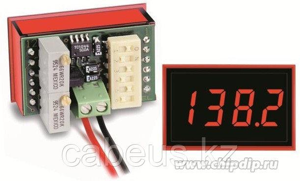 DMS-20PC-4/20S-C, Амперметр цифровой, измерительная головка 4-20mA, DIP-переключатель