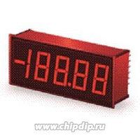 DMS-40PC-2-RS-C, Вольтметр цифровой, измерительная головка до 20В, красный 4,5 символа
