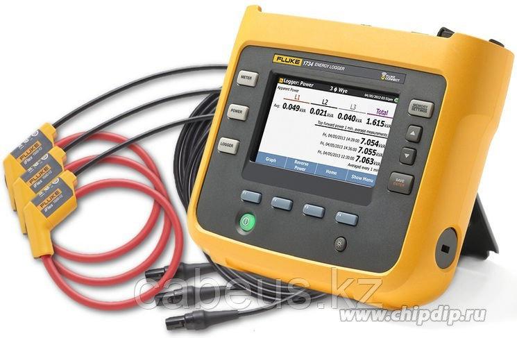 FLUKE 1734/ INTL, Трехфазный регистратор качества электроэнергии (Госреестр)