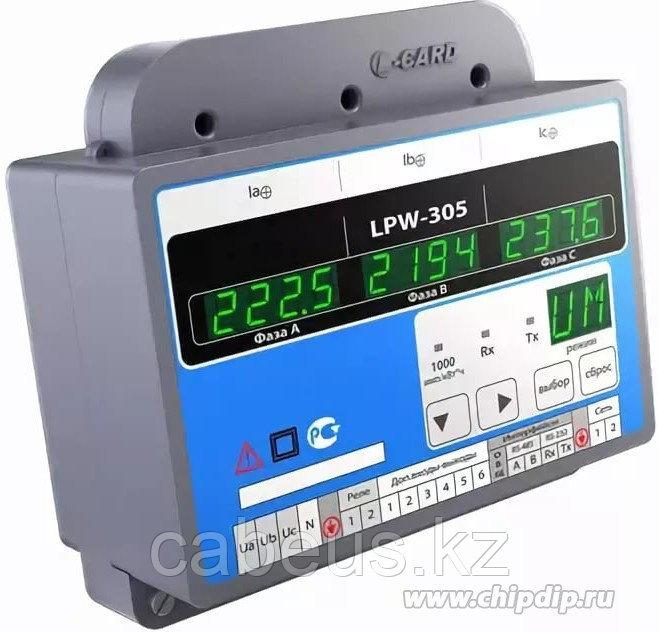 LPW-305-6, Анализатор качества электроэнергии (с реле, есть дискретный входа, c MicroSD)