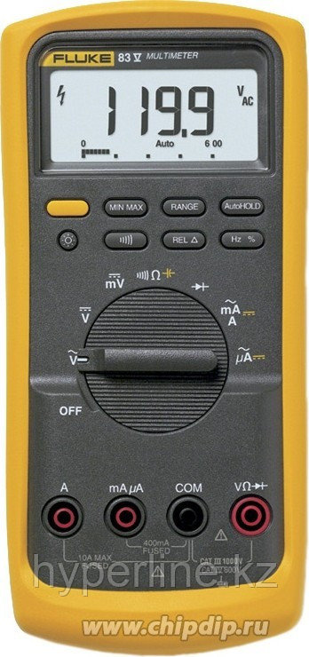 Fluke 83V, Мультиметр цифровой (Госреестр)