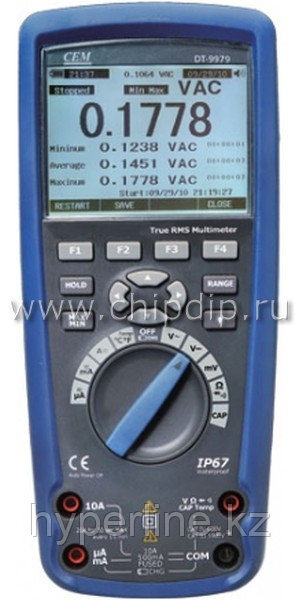 DT-9979 цифровой мультиметр, IP67, True RMS