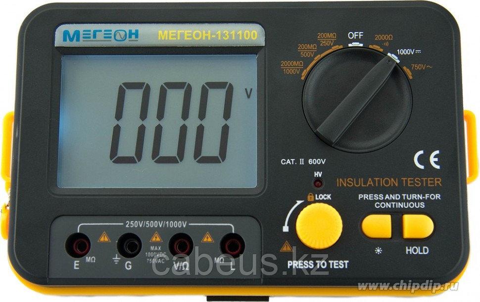МЕГЕОН 131100, Мегаомметр (измеритель сопротивления изоляции)