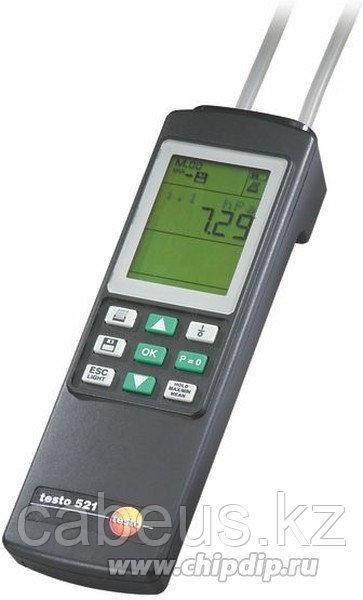 Testo 521-2, Манометр дифференциальный от 0 до 100 гПа