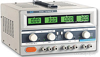 QJ3005C III, Источник питания, 0-30V-5Ax2;5V3A 4xLCD