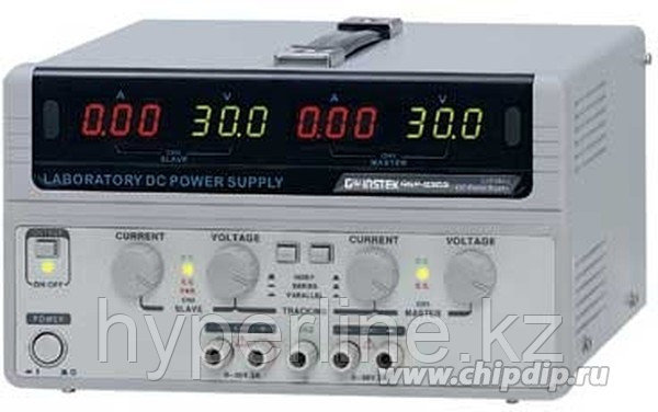 GPS-73303, Источник питания, 0-30V-3Ax2;5V3A,4хLED (Госреестр)