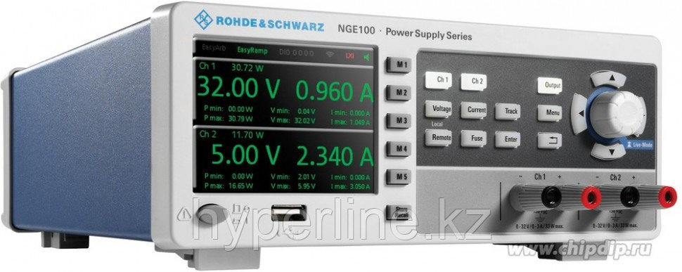 NGE102B, Источник питания 0-64V-6A