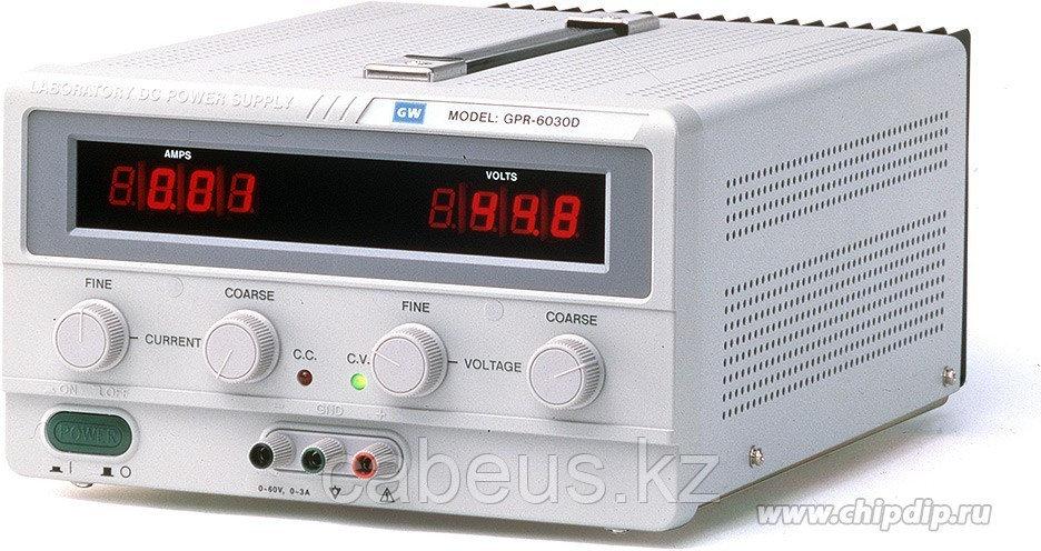 GPC-73060D, Источник питания, 0-30V-6Ax2;5V-3A 2хLED