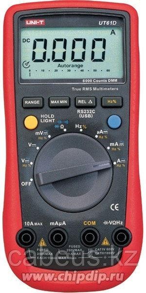 UT61D, Мультиметр цифровой с автоматическим выбором диапазона