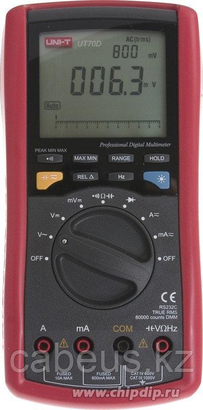 UT70D, Мультиметр цифровой с автоматическим выбором диапазона
