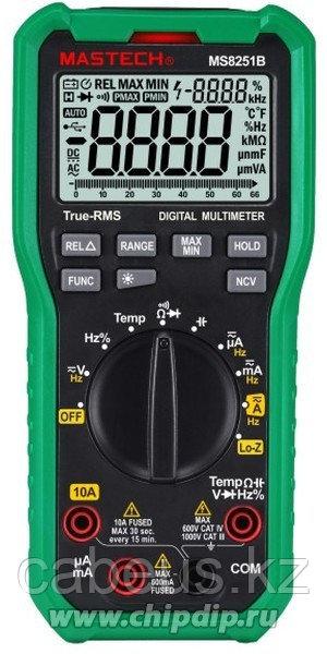 MS8251B, Мультиметр цифровой с TrueRMS и детектором напряжения