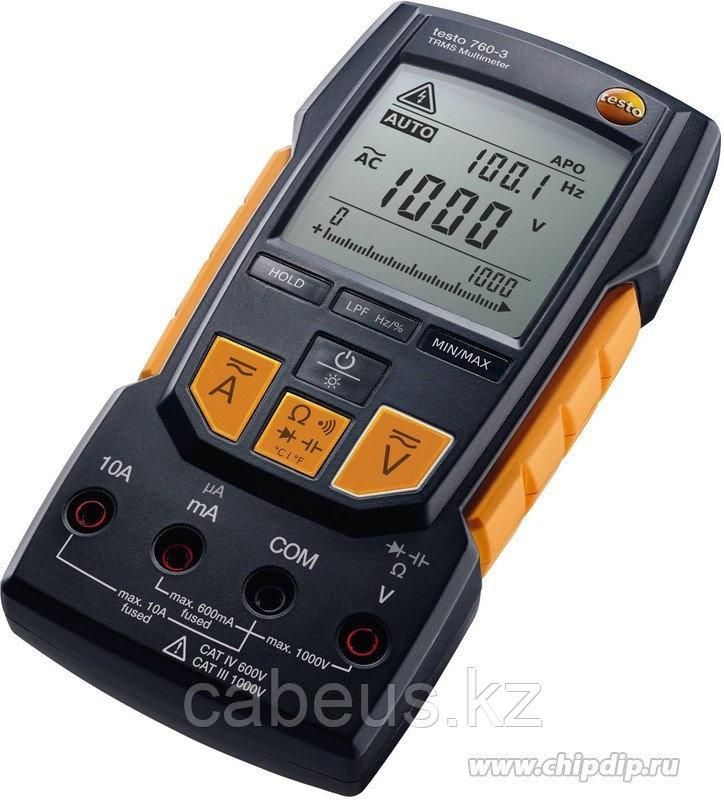Testo 760-3 (Госреестр), Мультиметр цифровой автоматический с функцией True RMC