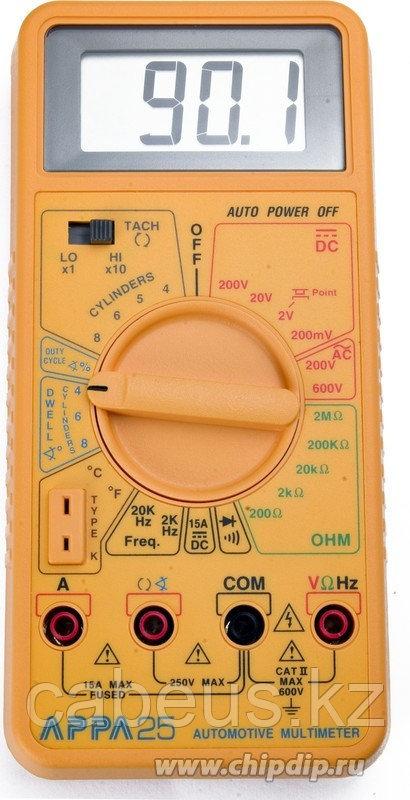 APPA 25, Мультиметр цифровой, автомобильный