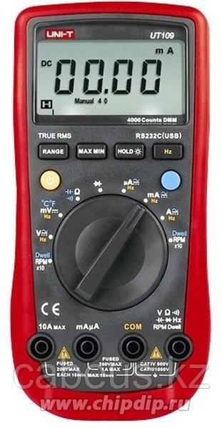 UT109 UNI-T Мультиметр цифровой автомобильный (автодиапазон)