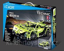 Конструктор на радиоуправлении CaDa Technic 2,4Ггц Спортивная машина 453 детали (C51007W) аналог Lego Technic