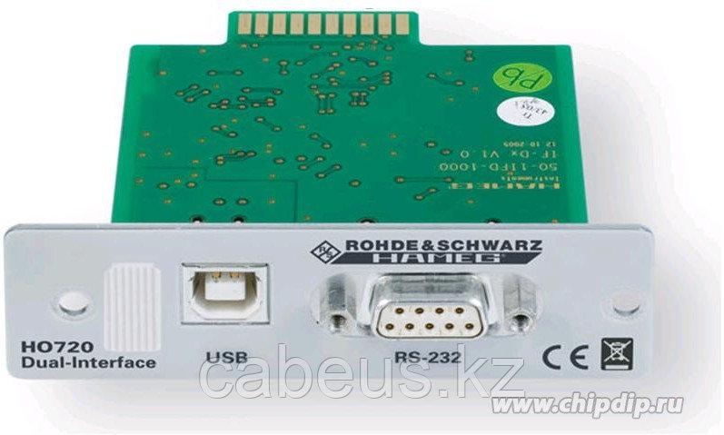 HO720, Плата USB/RS-232 интерфейса для приборов HMF, HMO, HMP, HMS