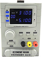 ELEMENT 305DB, Источник питания программируемый 0-30V-5А