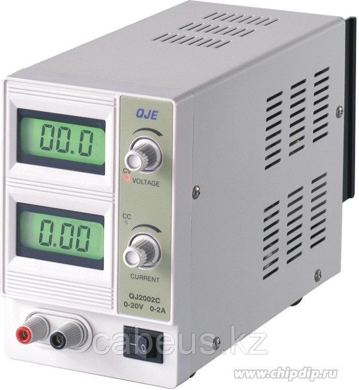 QJ2002C, Источник питания, 0-20V-2A 2xLCD