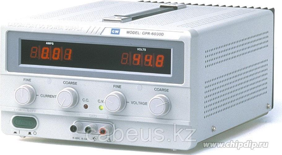 GPR-73060D, Источник питания, 0-30V-6A, 2хLED (Госреестр)