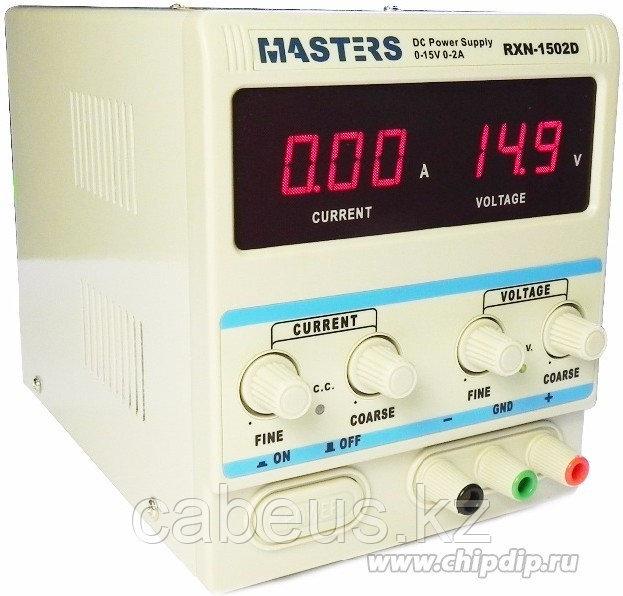 Master1502D (HY1502D), Источник питания 0-15V-2А
