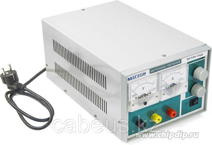 МЕГЕОН 31645, Одноканальный линейный источник питания с аналоговой индикацией