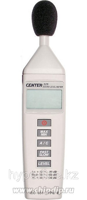 CENTER 325, Измеритель уровня шума