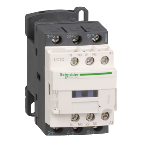 3-полюсный контактор TeSys D, 12А, 1НО+1НЗ, 220В АС