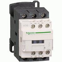 3-полюсный контактор TeSys D, 12А, 1НО+1НЗ, 24В DС