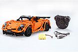 Конструктор на радиоуправлении CaDa Technic 2,4Ггц Спортивная машина 421 детали (C51051W) аналог Lego Technic, фото 3