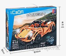 Конструктор на радиоуправлении CaDa Technic 2,4Ггц Спортивная машина 421 детали (C51051W) аналог Lego Technic