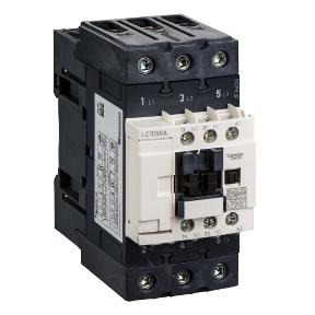 3-полюсный контактор TeSys D, 50А, 1НО+1НЗ, 220В АС