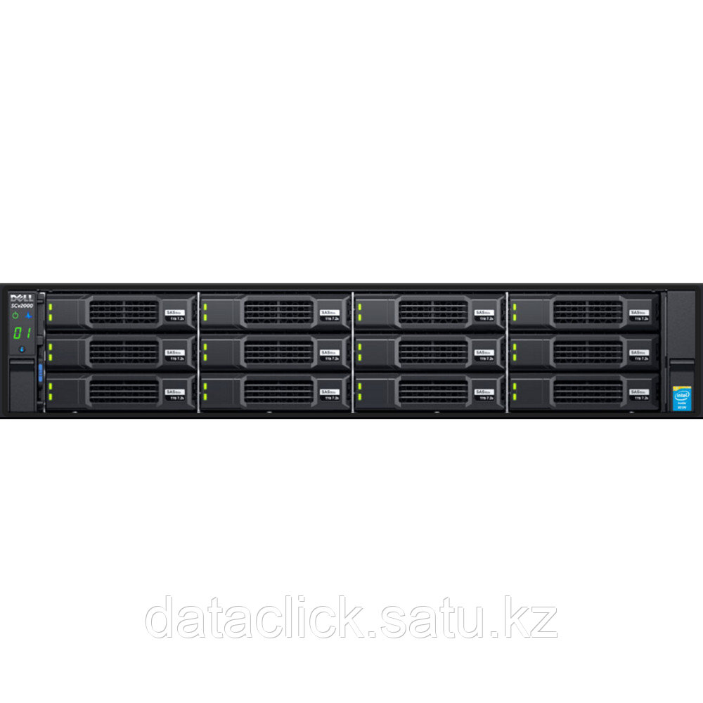 Дисковая СХД Dell Storage SCv2020 (Rack)