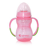 Бутылочка для кормления с ручками Baby Care Lorelli 250 мл, фото 3
