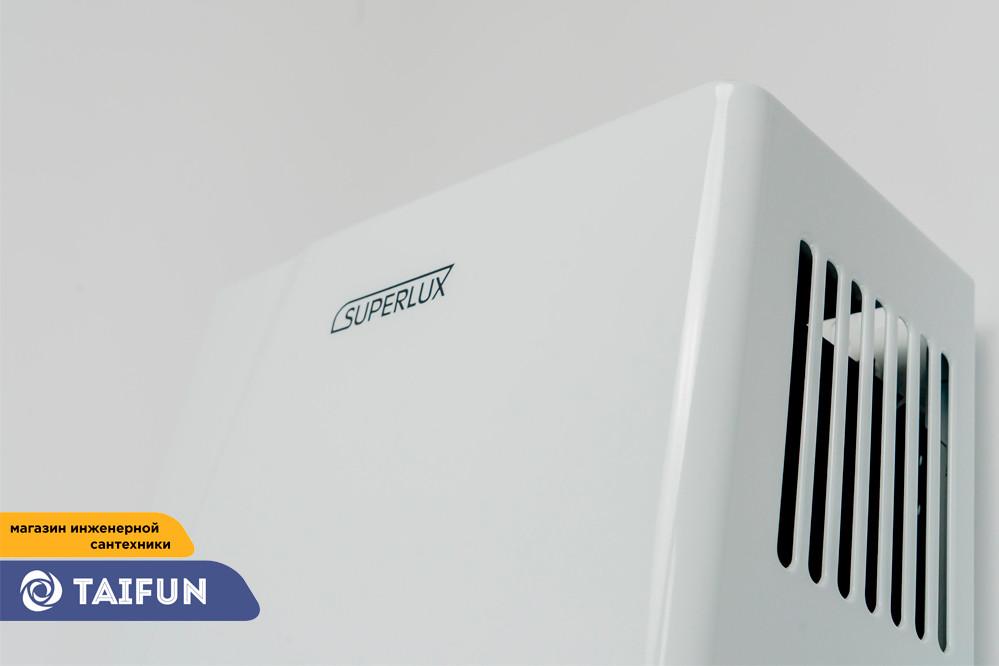 Газовая Колонка SUPERLUX 10L CF NG (20кВт) Газовый проточный водонагреватель - фото 4