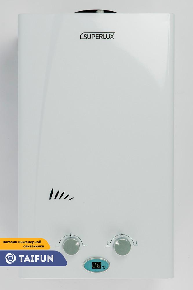 Газовая Колонка SUPERLUX 10L CF NG (20кВт) Газовый проточный водонагреватель - фото 5