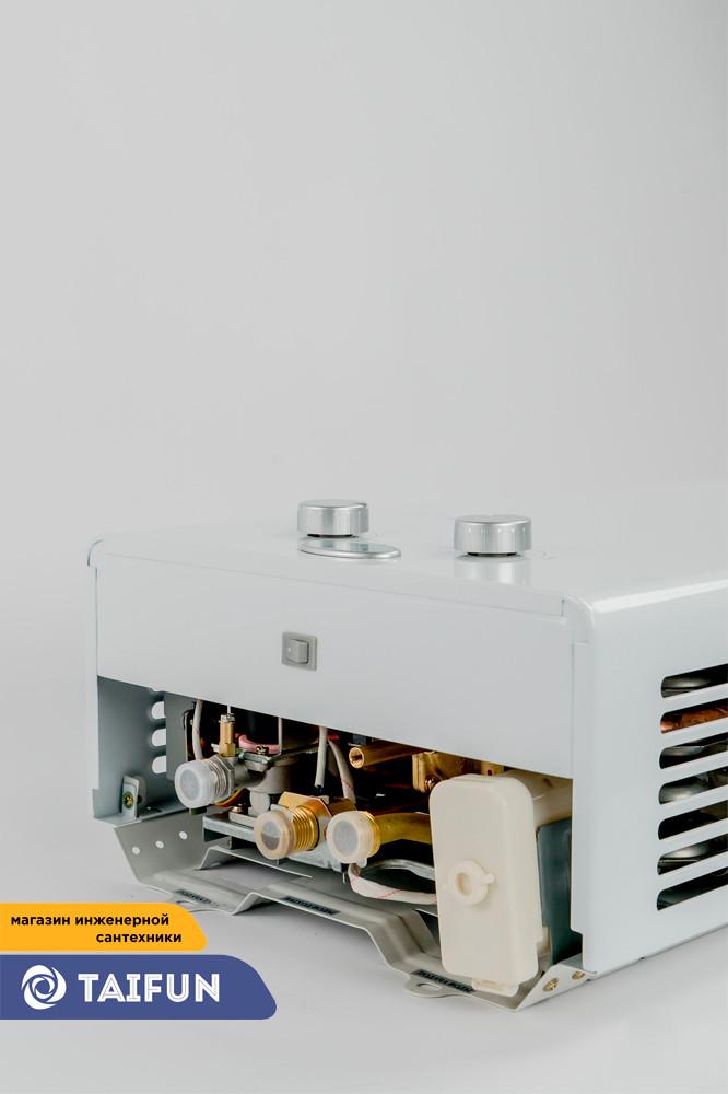 Газовая Колонка SUPERLUX 10L CF NG (20кВт) Газовый проточный водонагреватель - фото 6
