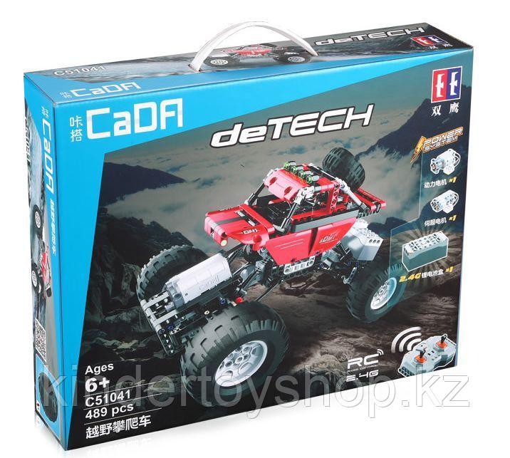 Конструктор аналог лего Lego Technic CaDa Technic полноприводный краулер 489 дет (C51041W) на радиоуправлении