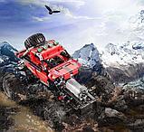 Конструктор аналог лего Lego Technic CaDa Technic полноприводный краулер 489 дет (C51041W) на радиоуправлении, фото 5