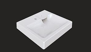 Раковина над стиральной машиной Стайл V50 (белый). Мрамор., фото 2