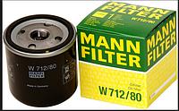Масляный фильтр MANN W712\80, зам W712\38