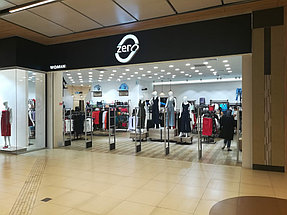 Торговое оборудование для сети магазинов одежды ZERO.  17