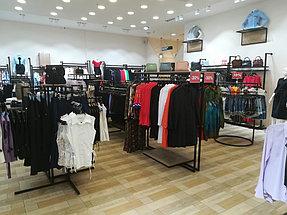 Торговое оборудование для сети магазинов одежды ZERO.  21