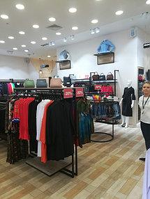 Торговое оборудование для сети магазинов одежды ZERO.  22