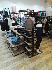 Торговое оборудование для сети магазинов одежды ZERO.  24